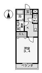 オンワード (オンワード)[2階]の間取り