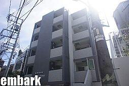 東京都渋谷区鶯谷町の賃貸マンションの外観