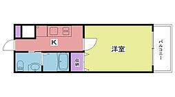 ディアさくら夙川[N405号室]の間取り
