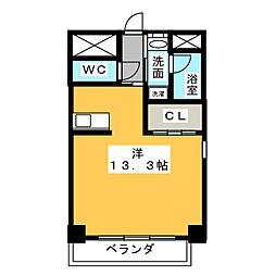 神谷ビルII[4階]の間取り