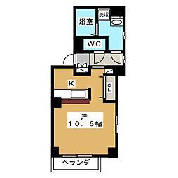 セゾン・エテルノ[3階]の間取り