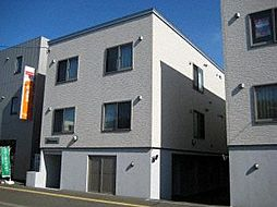 北海道札幌市東区北三十一条東8丁目の賃貸アパートの外観