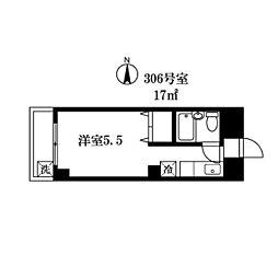 シティミヤザワ[306号室]の間取り