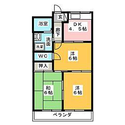 エメリーハイム[2階]の間取り