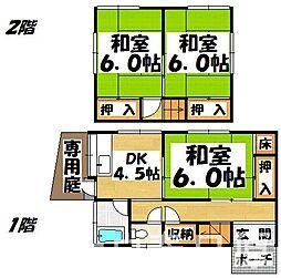[一戸建] 福岡県春日市須玖南1丁目 の賃貸【/】の間取り