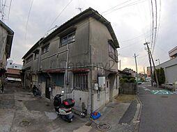 大阪府箕面市西小路3丁目の賃貸アパートの外観