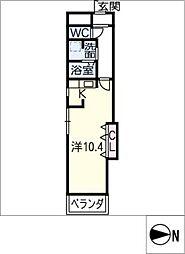 パルタマレ神宮[8階]の間取り