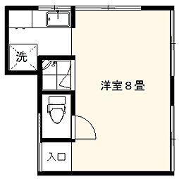 小上荘A館[2F号室]の間取り