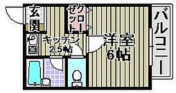 コートTAKUMI[205号室]の間取り