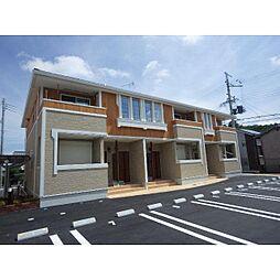 奈良県桜井市浅古の賃貸アパートの外観