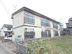 ハイツ千富[1階]の外観