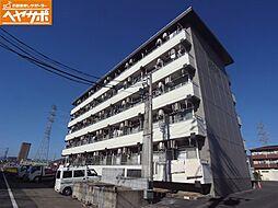 岐阜県岐阜市折立の賃貸マンションの外観
