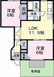 NGT−21'FUKUDA[1階]の間取り