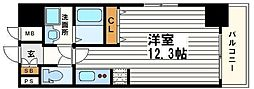KAISEI本町東[3階]の間取り