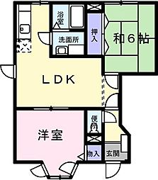 フル−ル・メゾン K[0101号室]の間取り