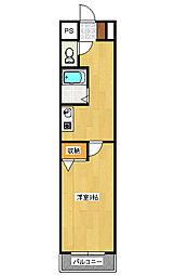 グレイスKPCマンション[1階]の間取り