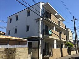 大阪府高槻市寿町1丁目の賃貸マンションの外観