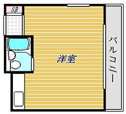 東京都江東区北砂4丁目の賃貸マンションの間取り