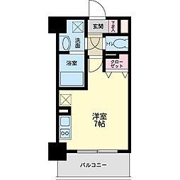 パシフィックレジデンス神戸八幡通[0604号室]の間取り