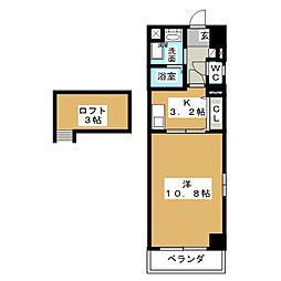 音羽壱番館栄[8階]の間取り