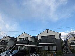 福岡県筑紫野市針摺東2丁目の賃貸アパートの外観