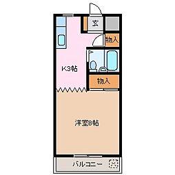 メゾン・ド・有明[2階]の間取り