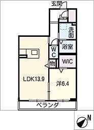 ターナSumiyoshi[3階]の間取り