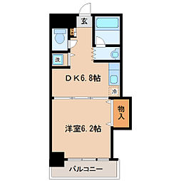 ファーストパレス仙台[3階]の間取り