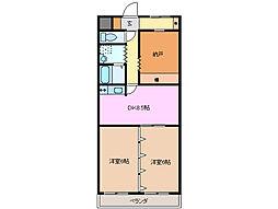 エトワールEBA[2階]の間取り
