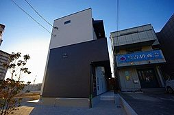 愛知県名古屋市中川区花塚町1丁目の賃貸アパートの外観