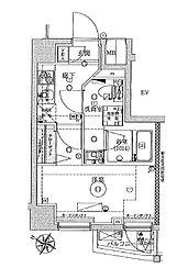 VERXEED横濱WEST[5階]の間取り