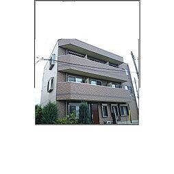 東京都国立市矢川3丁目の賃貸マンションの外観