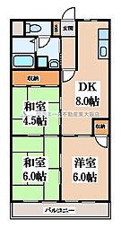 エトワールハイム川本[4階]の間取り