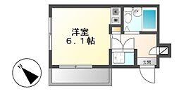 エクセランス新栄[2階]の間取り