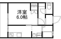 第2鈴木アパート1F[103号室]の間取り
