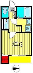 edel[1階]の間取り