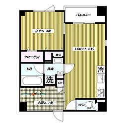 仮 高島平1丁目 大和ハウス施工 新築賃貸マンション[3階]の間取り
