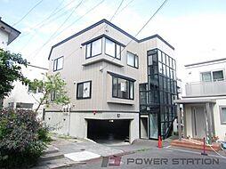 青山緑アパート[1階]の外観