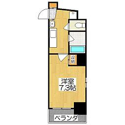 SK東堀川[203号室]の間取り