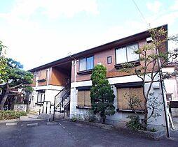 京都府長岡京市緑が丘の賃貸アパートの外観