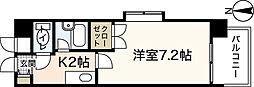 広島高速交通アストラムライン 伴駅 徒歩5分の賃貸マンション 3階1Kの間取り