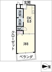 グランドステージ[6階]の間取り