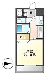 AXIS桜通内山[10階]の間取り