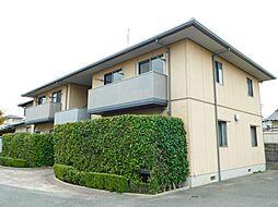 福岡県北九州市小倉南区朽網西2丁目の賃貸アパートの外観