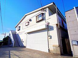 埼玉県新座市池田3丁目の賃貸アパートの外観