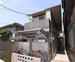 京都府京都市伏見区両替町12丁目の賃貸アパートの外観