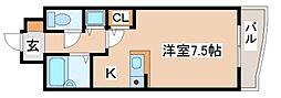 兵庫県神戸市須磨区月見山町1丁目の賃貸マンションの間取り