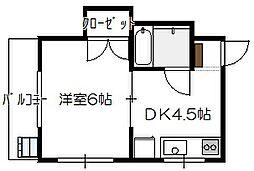 楽々園駅 3.3万円