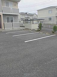 群馬県高崎市箕郷町上芝の賃貸アパートの外観