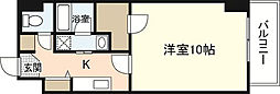 第23やたがいビル[4階]の間取り